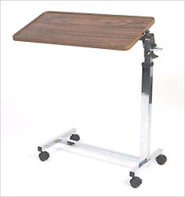 Over The Bed Tilt Top Hospital Style Table - tool
