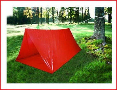 Emergency Survival Camp Tube Tent - tool