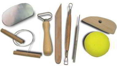 Tool Set Kit for Modeling Clay Pottery Model Maker Making - tool