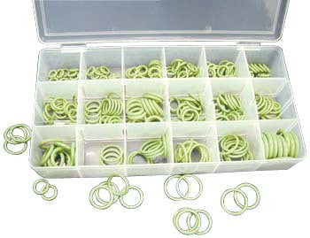 O-Ring Seal Washer Assortment for R134 R12 Air Conditioning Systems Hnbr Kit - tool