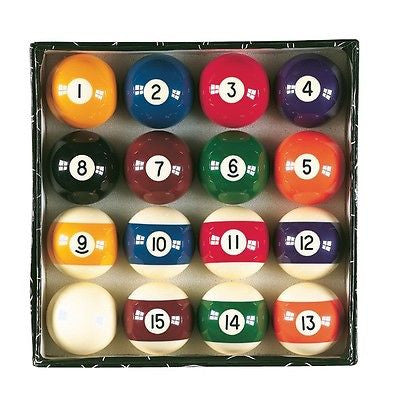 Miniature Billiard Balls Replacement Set - tool