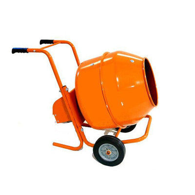 Portable Small Electric Power Powered Mortar Concrete Cement Cemet Mixer Tool - JABETC