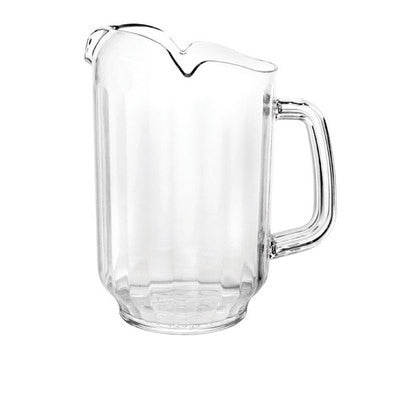 64oz Polycarbonate Plastic Restaurant Drink Server Ice Water Soda Pitcher Pourer - JABETC