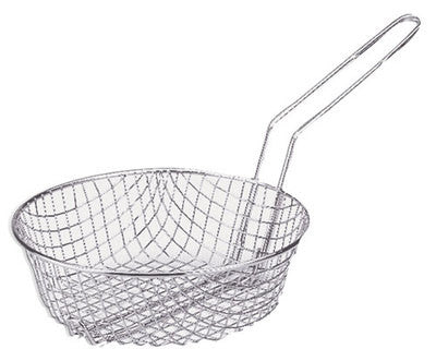 SM Deep Round Coase Mesh Frying Fry Cooker Basket for Stove Top Stovetop Pot Pan - tool