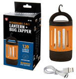 Hang Up Cordless Bug Zapper Trap Lantern
