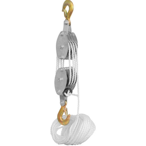 Rope Pully Block and Tackle Hoist - tool