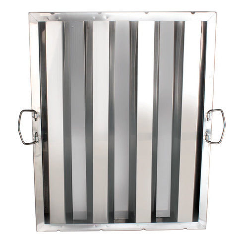 "Stainless Steel Hood Filters 16"" x 20"" - tool"