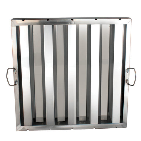"Stainless Steel Hood Filters 20"" x 20"" - tool"