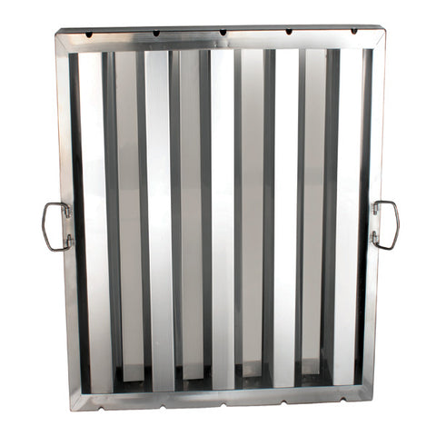 "Stainless Steel Hood Filters 20"" x 25"" - tool"