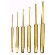 Solid Brass Pin and Center Punch Set - JABETC