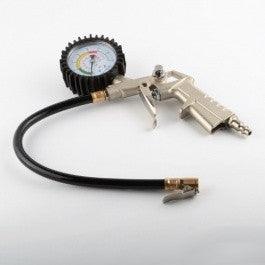 Car Auto Tire Inflator for Air Compressor with Gauge - tool