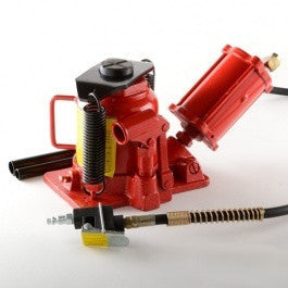 20 Ton Air Operated Powered Power Over Hydraulic Bottle Jack Lift - tool