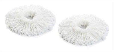 2 Pack Replacement Spin Mop Head - tool