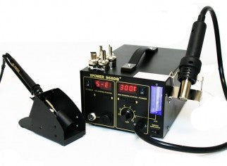 Tabletop AC/DC Led Soldering Welder Power Station Tool Iron Solder Electronic - JABETC