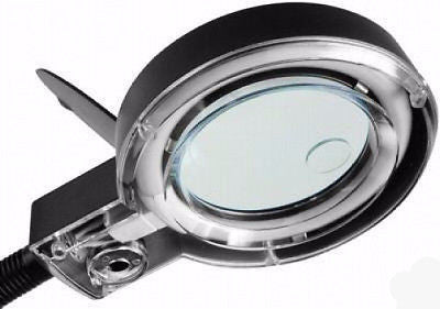 Hands Free Lighted Magnifier Desk Top Lamp - tool