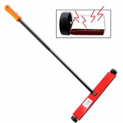 "16"" Wide Magnet Magnetic Sweeper Metal Steel Pick Up Broom Tool Sweep - tool"