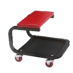 Rolling Mobile Shop Creeper Mechanic's Padded Stool Work Seat Workseat Chair - tool