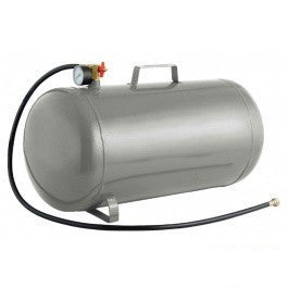 9 Gal Gallon Steel Portable Carry Compressed Air Hose Pressure Storage Tank - JABETC
