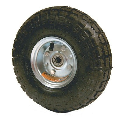 "Replacement 10"" Rubber Air Filled Wheel Tire for Hand Truck Dolly or Cart - JABETC"