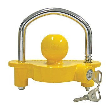 Universal Trailer Hitch Ball Coupler Lock Out Trailor Tongue Tounge Lockout - tool