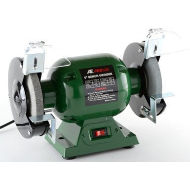 "6"" Electric Powered Bench Top Grinder Benchtop Sharpener Power Tool - tool"
