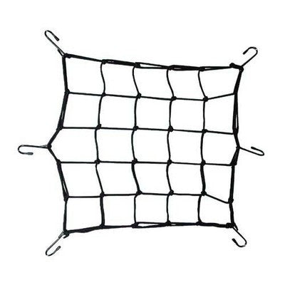 Small Motorcycle Cargo Hold Down Holding Net Netting Set ATV Bungee Bungie Cord - JABETC