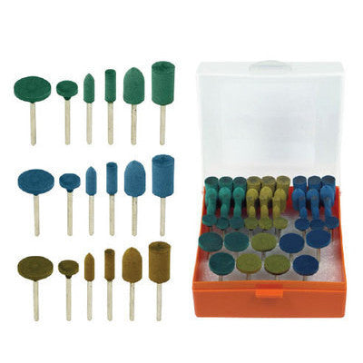 54 Piece Rubber Head Abrasive Wheel Set for Dremel - tool