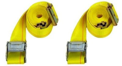 2 Pack 12Ft Cam Lock Truck Web Cargo Tie Hold Down E Track Strap Trailer Etrack - tool