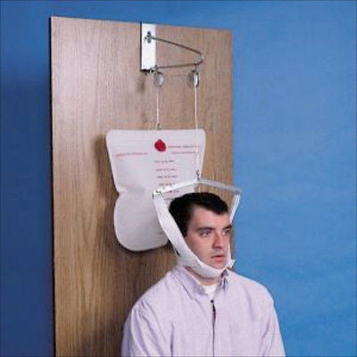 Hanging Over The Door Cervical Neck Traction Unit Device Head Overdoor Brace - JABETC - 1