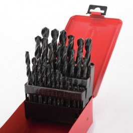 Cheap 29 Piece Piece Drill Bit Set Index for Metal Steel Drilling with Case Box - JABETC