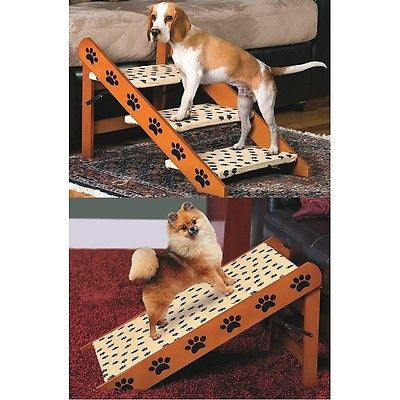 Cheap Wooden Convertible Pet Steps - JABETC