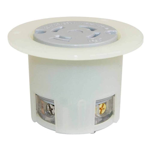 EMA L14-30R 3Pole 4W 30A 125/250V Flush Mount Twist Lock Receptacle Flange Outlet - tool