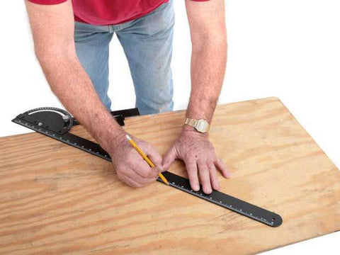 Angle Saw and Router Guide - JABETC - 1