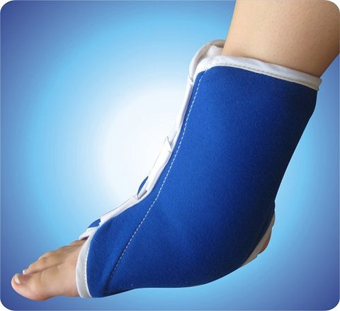 Hot or Cold Ankle Foot Support Brace Wrap - tool