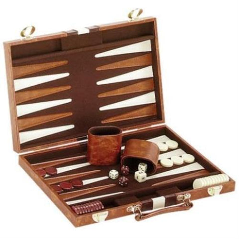 Backgammon Game Set in Carrying Case - tool