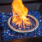Blue Fire Glass Media for Fire Pit Fireplace