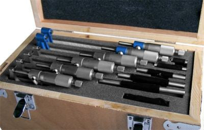 0-6 Machinist Dial Precision Micrometer Mic Set - tool