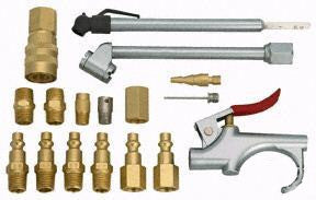 Pneumatic Air Tool Accessory Kit for Air Compressor - JABETC