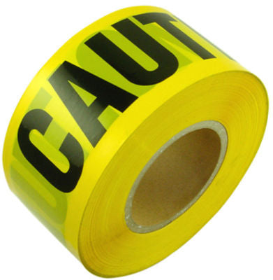 Roll of Yellow Caution Tape - tool