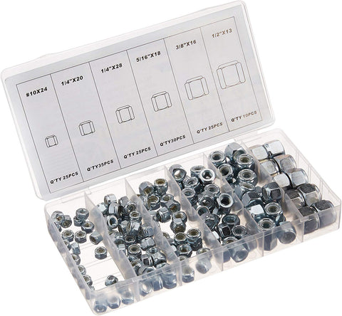 Nylon Insert Lock Nut Assortment