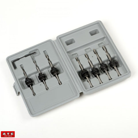 Wood Tapered Countersink Drill Bit Set - tool