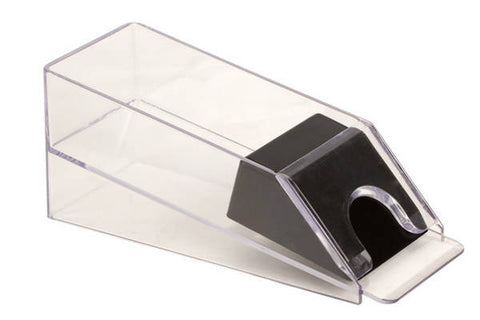 4 Deck Acrylic Plastic Poker Blackjack Playing Card Deal Dealing Shoe Dispenser - tool