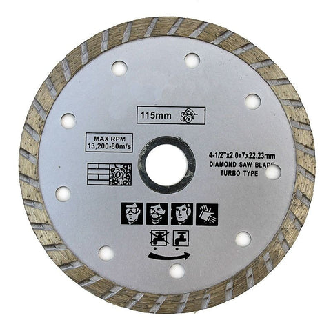 "4 1/2"" Diamond Blade for Grinder or Saw - tool"