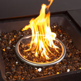 Gold Fire Glass Media for Fire Pit Fireplace