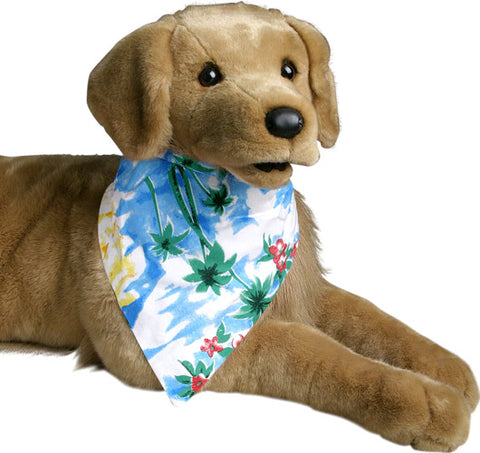 Hawaiian Dog Bandana