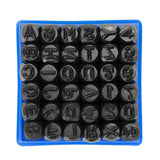 Steel Metal Letter and Number Alphabet ID Stamping Punching Punch Tool Set Kit