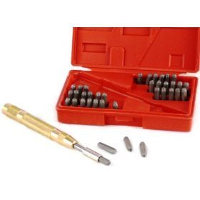 Letter and Number Punch Tool Set - JABETC