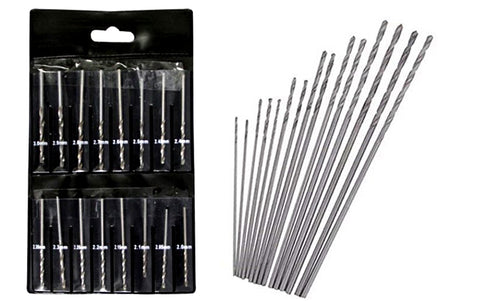 Mini Metric Drill Bit Set