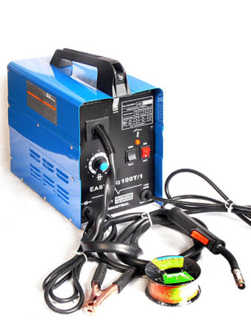 Electric 100 Amp Mig Wire Feed Fed Welding Welder Machine - tool