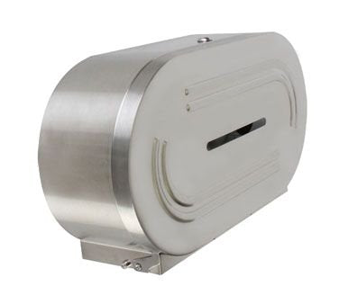 Twin Stainless Steel Metal Toilet Paper Dispenser - tool